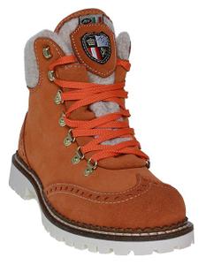 New Italia Shoes | Schnürstiefelette - orange
