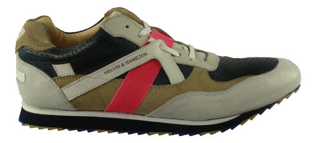 Melvin & Hamilton | Neal2 | Sneaker - bunt | blue