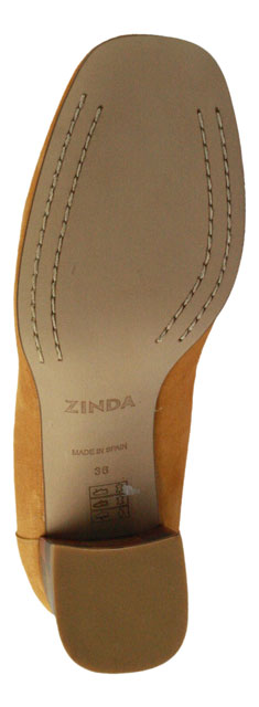 Zinda | Pumps Hochfront - orange | mango