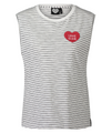 Catwalk Junkie | Love Crew | Tank Top gestreift - weiß