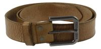 FREDsBRUDER | Belt Big | Gürtel - braun | oak buff