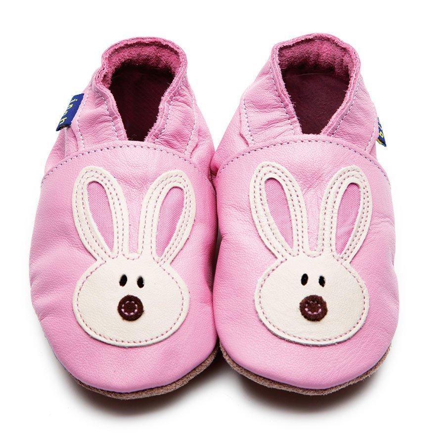 Image of Inch Blue | Babyschuhe Flopsy | Hase - rosa | pink 1, rosa