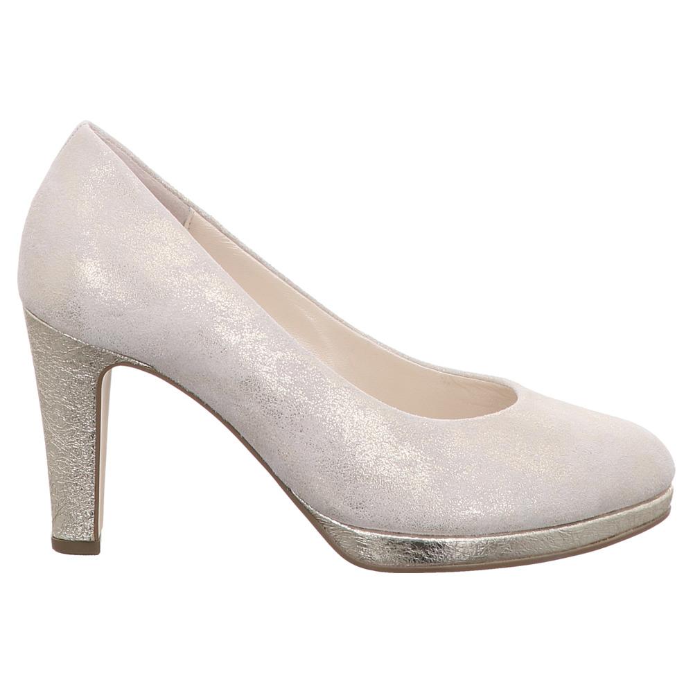 Gabor | Fashion Pumps | Plateau - beige silber | puder