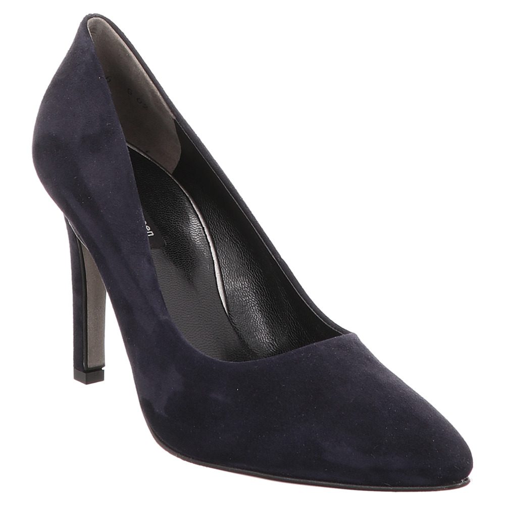 Paul Green | Pumps | Stiletto | spitz | Veloursleder - blau
