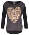 Catwalk Junkie | Heart of Wild | Long Sleeve - schwarz