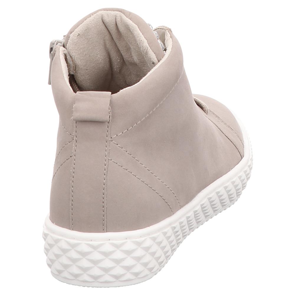 Gabor | Comfort | High-Top-Sneaker | Strass - beige | leinen