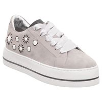 Maripe | Damen Sneaker | Blumen - grau | light