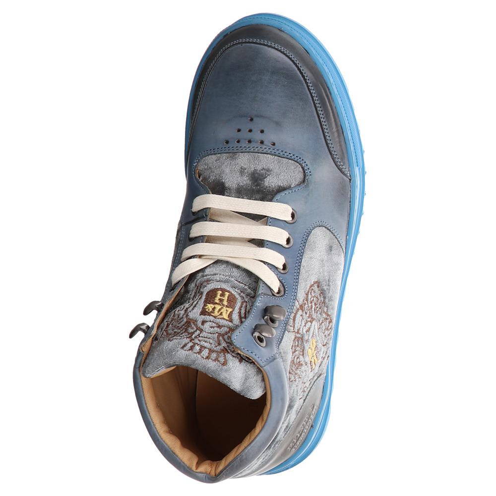 Melvin & Hamilton | Maxima | High Top Sneaker - blau | moroccan