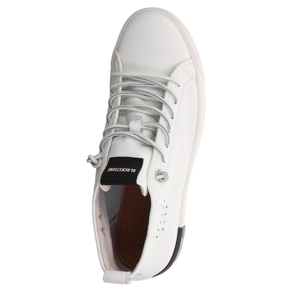 Blackstone   PM- 42   Mid Sneaker - Weiss