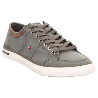 Tommy Hilfiger | Core Material | Sneaker - grün | dusty olive