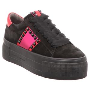 Kennel & Schmenger | Top | Sneaker - schwarz | rot | pink