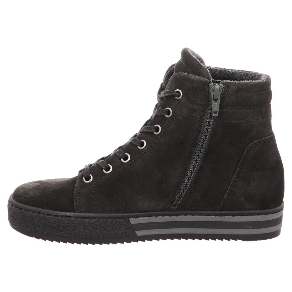 Gabor | High Top Sneaker  | Schnürer- grau| dark - grey