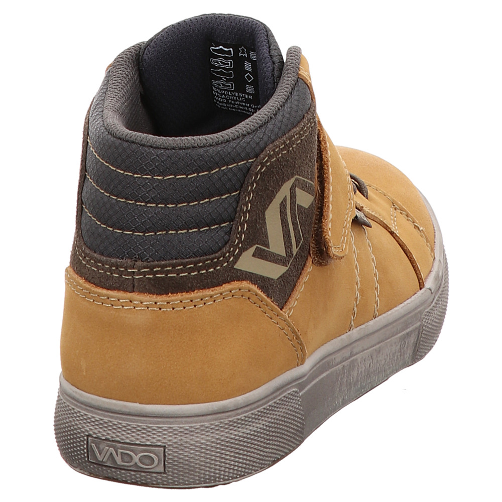 Vado | Don | High Top Sneaker - braun | wheat