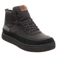 Vado | Bill | High Top Sneaker | Vado Tex - schwarz | black