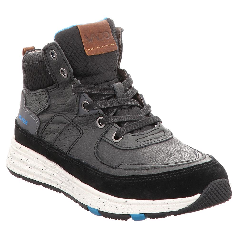 Vado | Billy | High Top Sneaker TEX - schwarz | charcoal