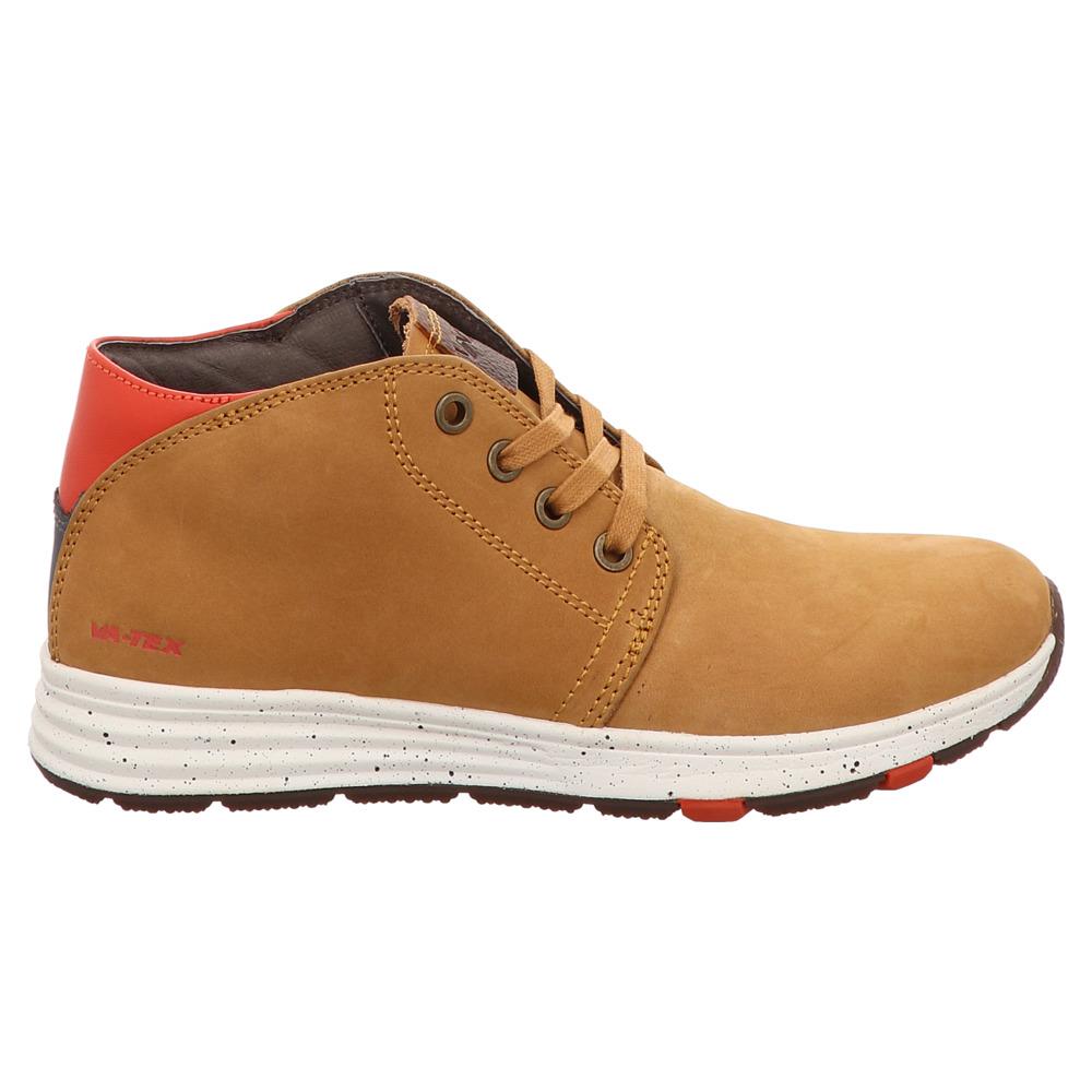 Vado | Alan | High Top Sneaker | TEX - braun | wheat