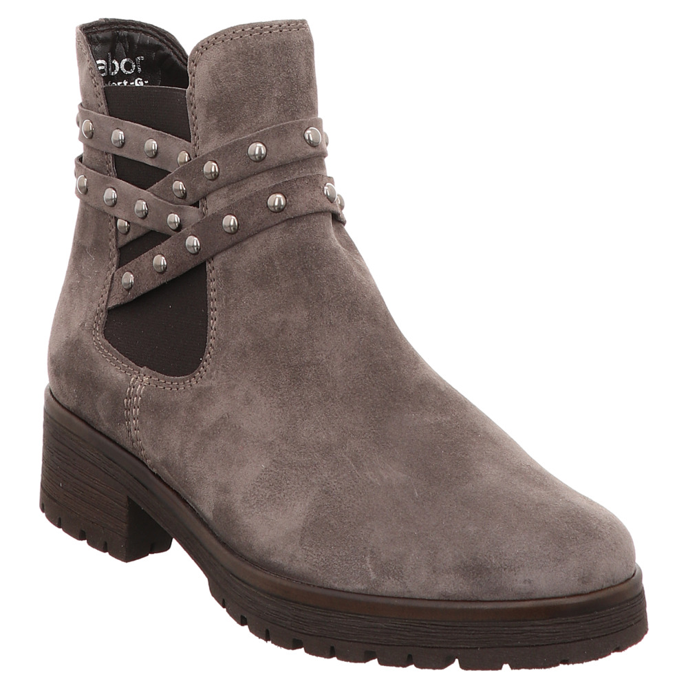 Gabor | Stiefelette | Chelsea Boots - grau | wallaby