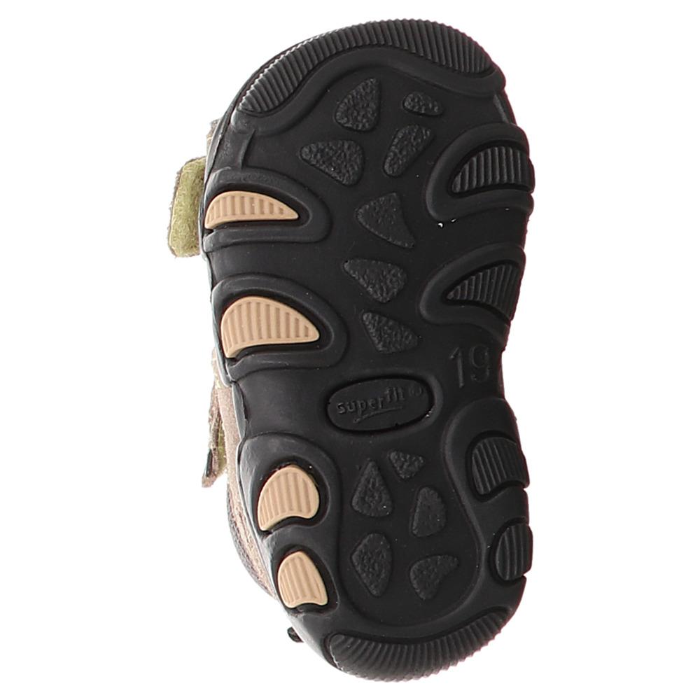 Superfit | Lauflern | Sandale - braun | braun