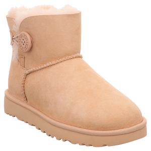 UGG | W Mini Bailey Button II | Boots gefüttert - rosa