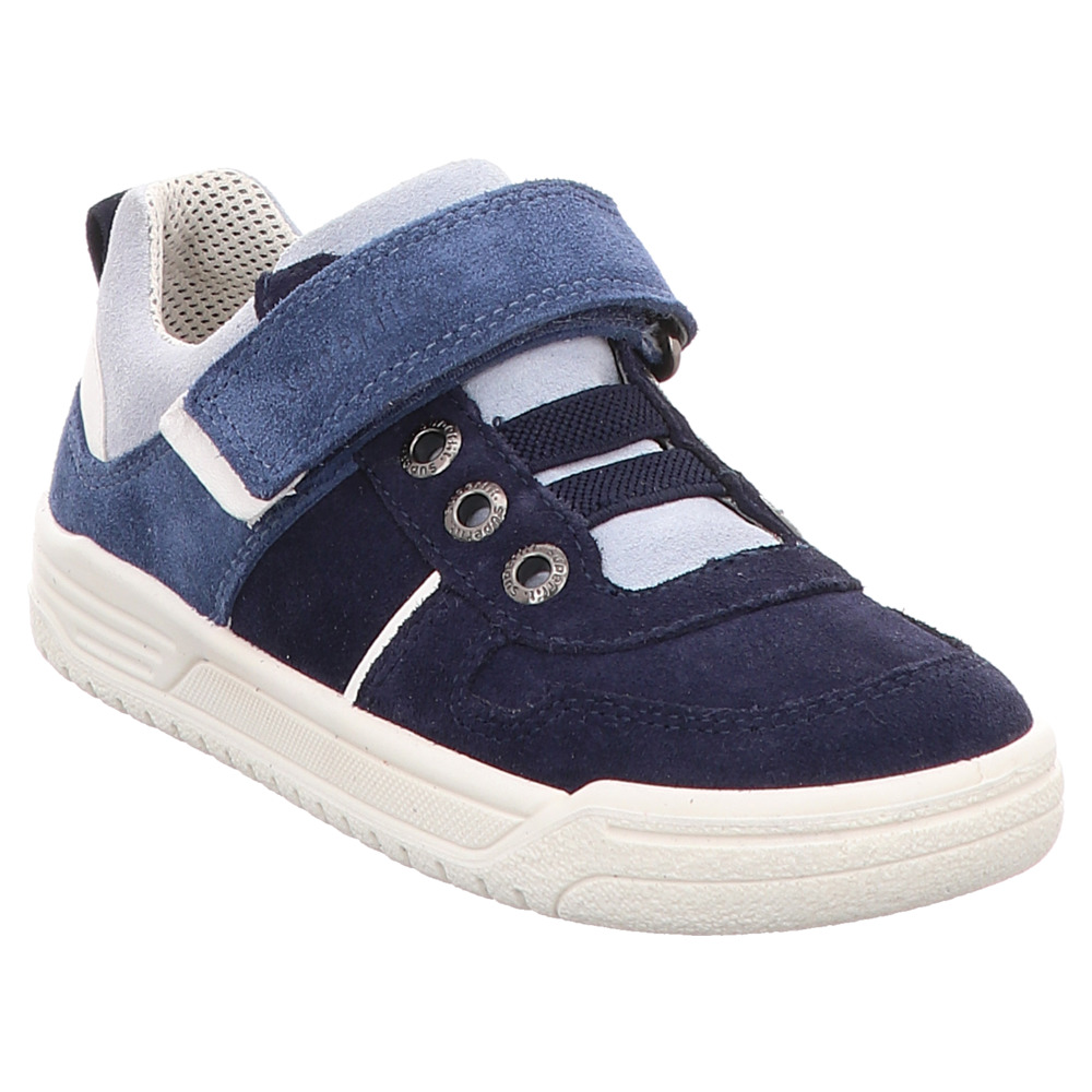 Superfit | Earth | Halbschuh Klett | weit - blau