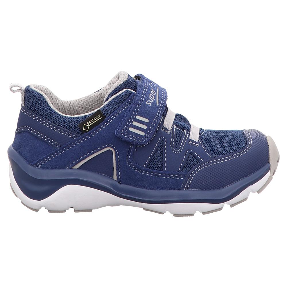 Superfit   Sport5   Halbschuh    Klett Goretex - blau
