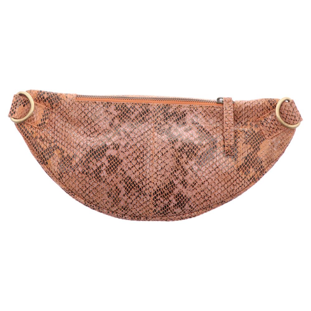 Anokhi | Belt Bag | Gürteltasche - snake braun