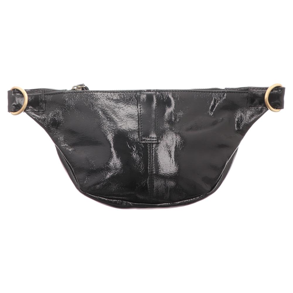Anokhi | Belt Bag | Gürteltasche - schwarz lack