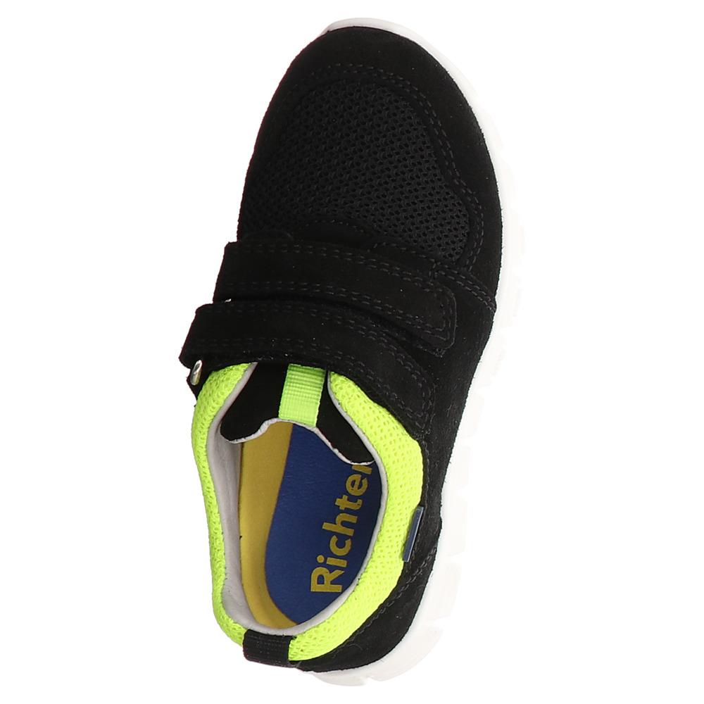 Richter | Jungen Klett Sneaker - schwarz | black