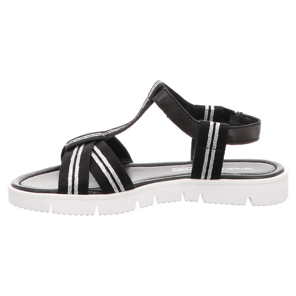 Kennel & Schmenger | Sandale - schwarz | silver