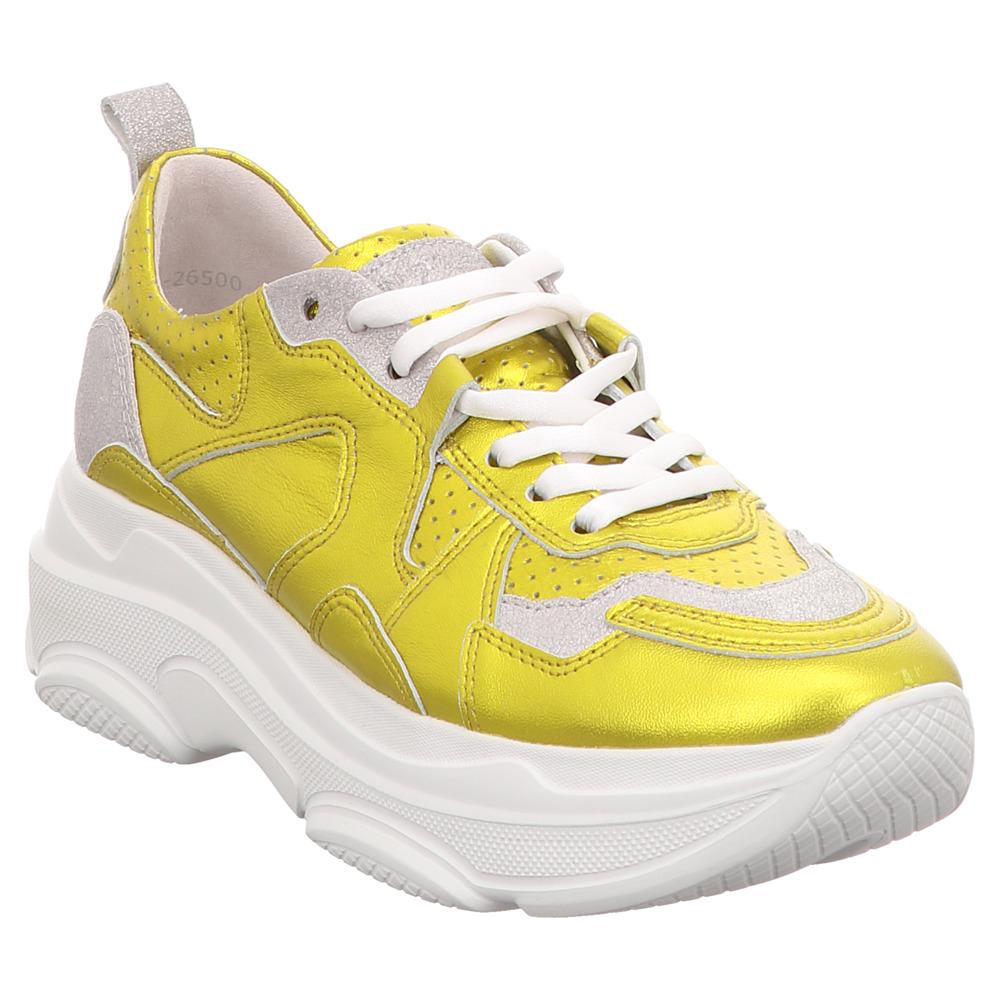 Kennel & Schmenger | Chunky Sneaker - gelb | yellow silver