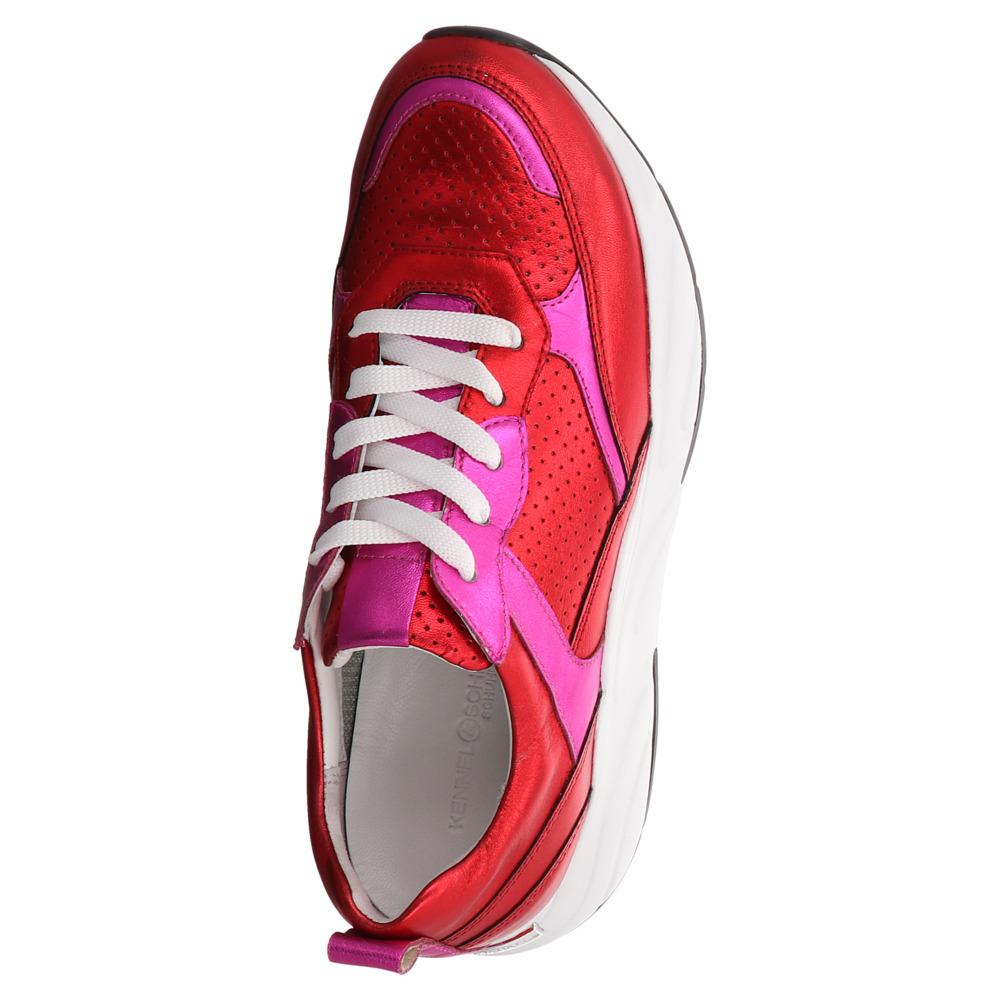 Kennel & Schmenger   Dad Sneaker - rot   magenta