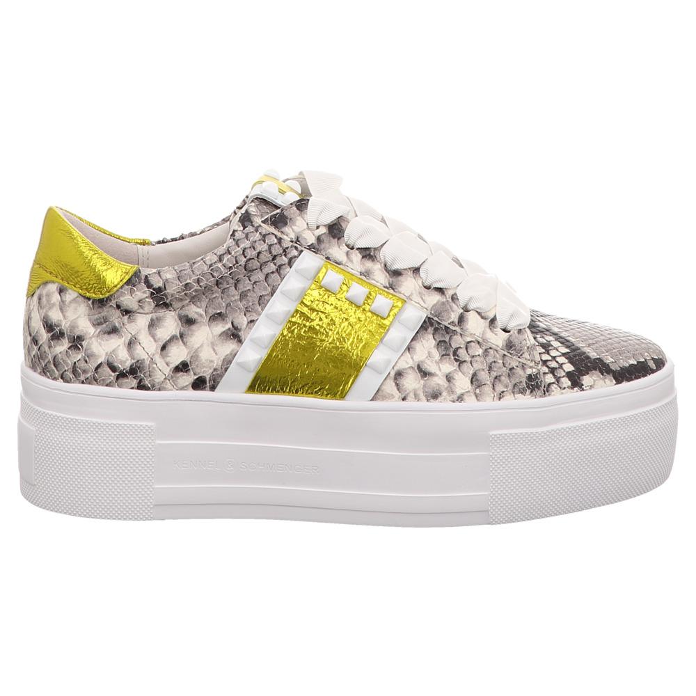 Kennel & Schmenger | Sneaker - grau | grey bianco yellow