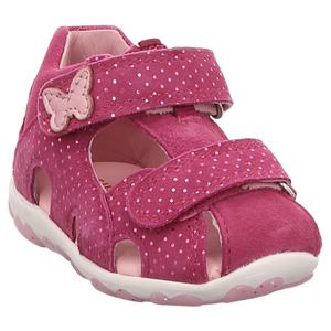 Superfit   Fanni   Lauflern Sandale - pink   rosa