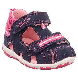 Superfit | Fanni | Lauflern Sandale - blau | rosa