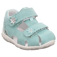 Superfit | Fanni | Lauflern Sandale - mint | metallic