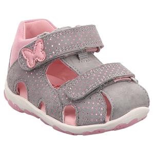 Superfit | Fanni | Sandale für Lauflerner - grau | rosa