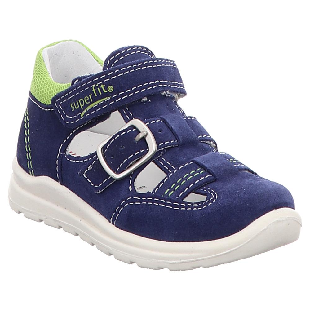 Superfit   Mel   Lauflern Sandale - blau   grün