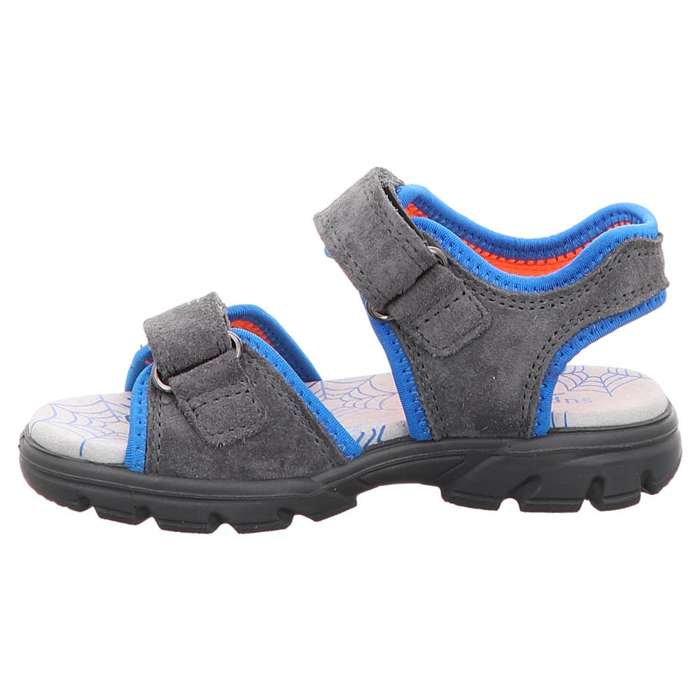 Superfit   Scorpius   Jungen Sandale - grau   blau