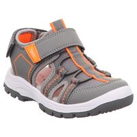 Superfit | Tornado | Jungen Sandale - grau | orange