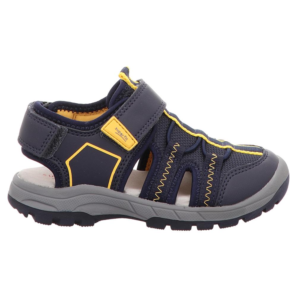 Superfit | Tornado | Jungen Sandale - blau | gelb