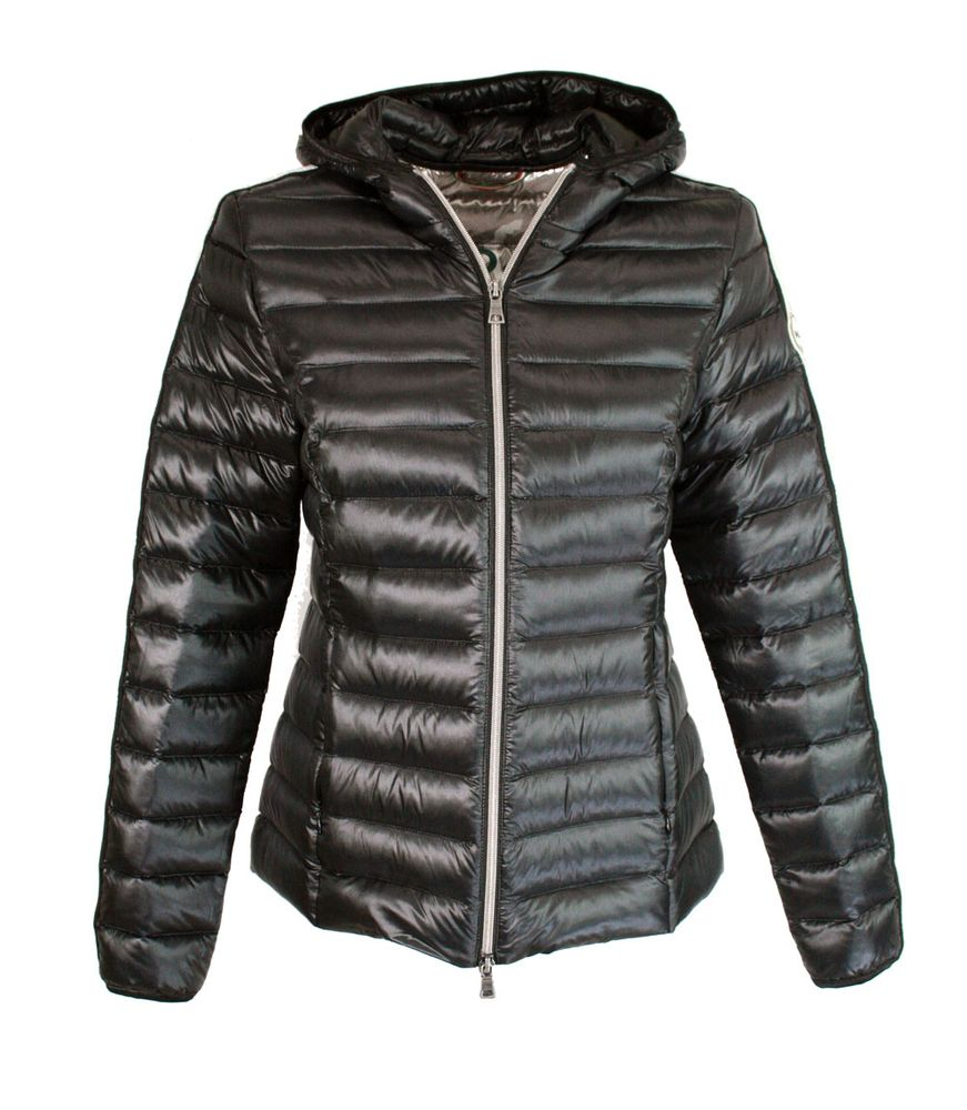 No. 1 Como | Sara | Steppjacke - schwarz | black stripe
