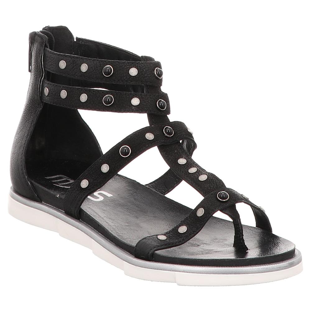 Schwarz MjusRiemchen Flats Schwarz Nero Sandale Flats MjusRiemchen Sandale MjusRiemchen Nero ONw8nXPk0Z