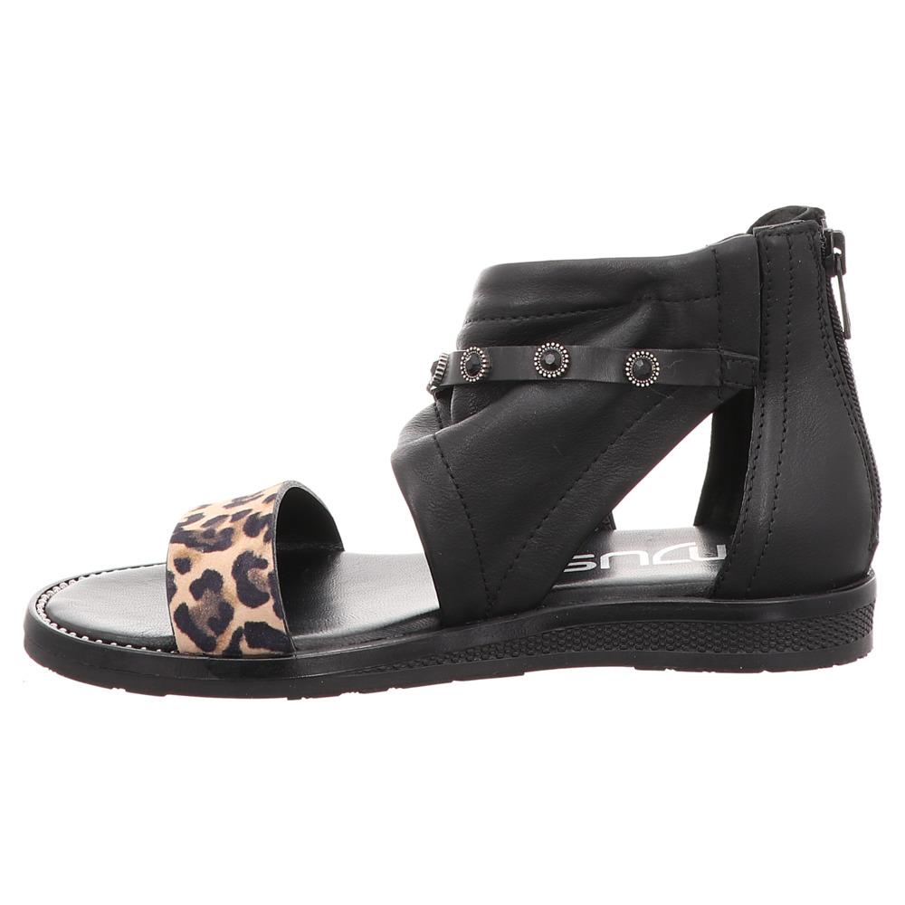 Mjus | Schaft Sandale | Leo - schwarz | nero