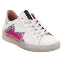 Mjus | Low Top Sneaker - weiß | pink