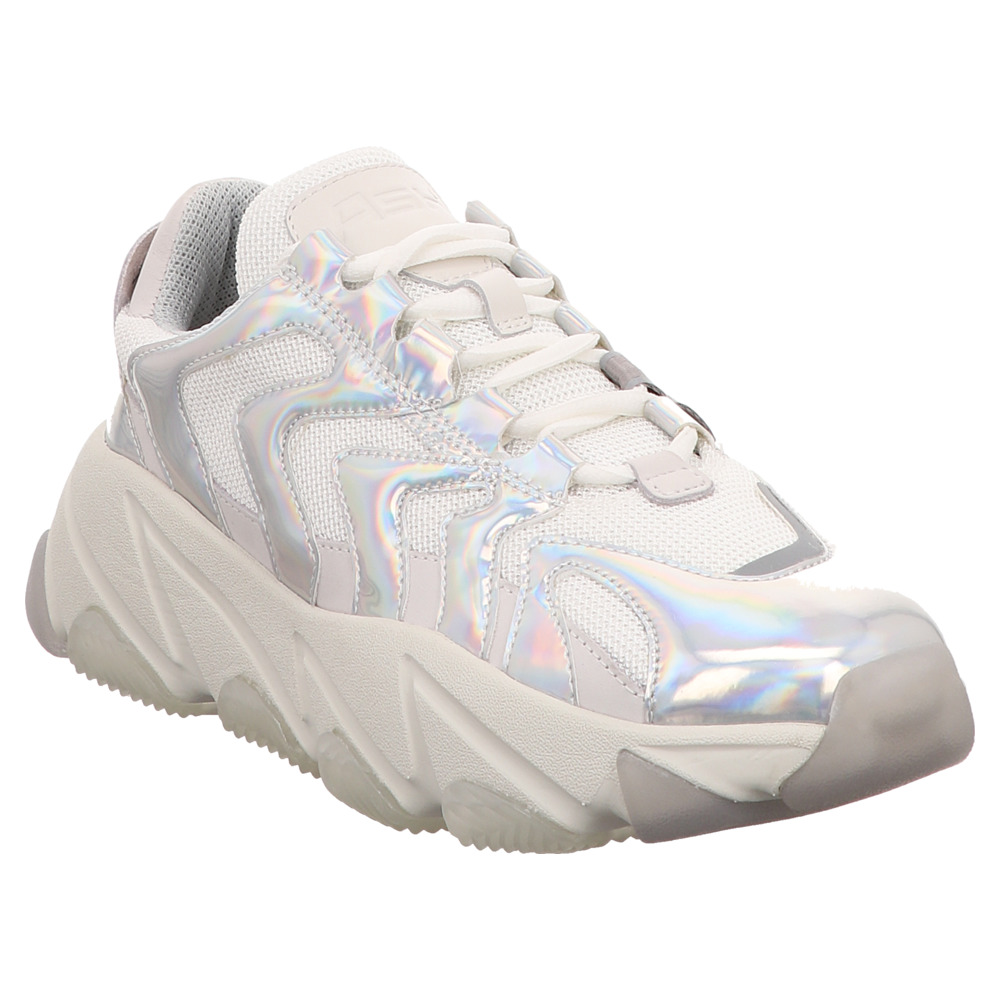 ASH | Extreme | Chunky | Dad Sneaker - weiß | silver