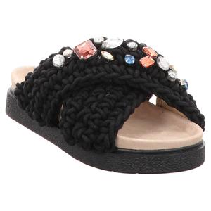 Inuikii | Slipper Woven | Pantolette - schwarz | black