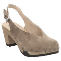 Softclox | Gesa | Sling Back Pumps - beige | taupe