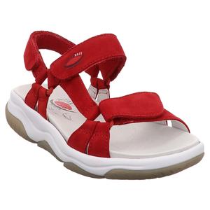 Gabor | Rolling Soft | Sandale - rot | rubin