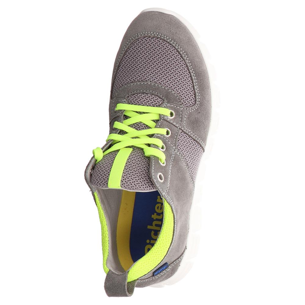 Richter | Sneaker - grau | rock