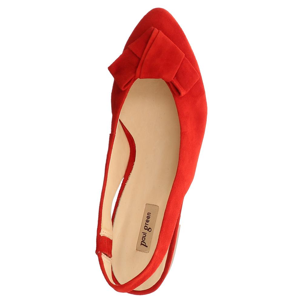 Paul Green   Sling Ballerina - rot   red